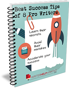 8 Success Tips from Professional Writers
