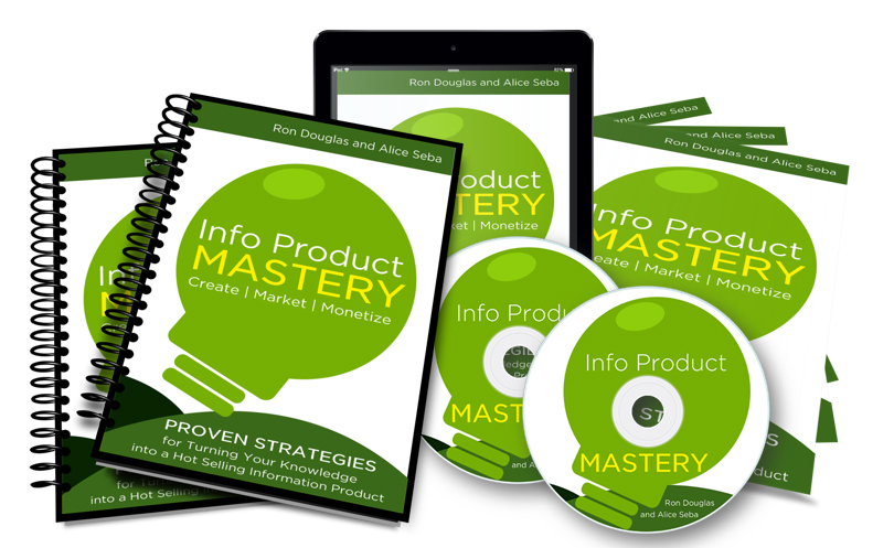 Ron Douglas and Alice Seba –  Info Product Mastery